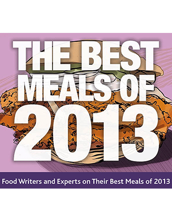 The Best Meals of 2013